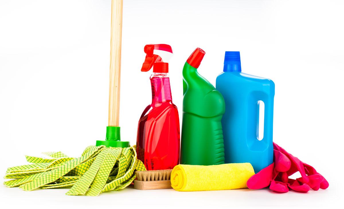Servicio doméstico. Podemos usar productos profesionales